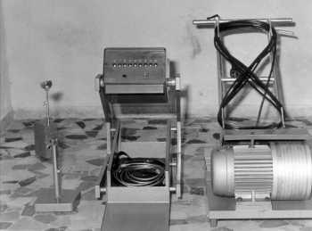 ASPERA, первый балансировочный стенд FASEP без демонтажа колеса